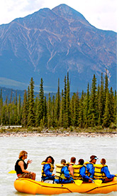 Canadian Rockies family trip photo